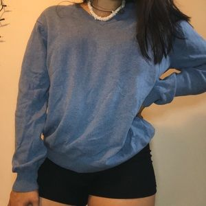 Light Blue chaps sweater